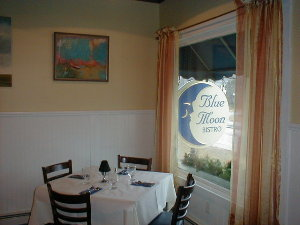 Blue Moon Bistro in Dennis, Massachusetts