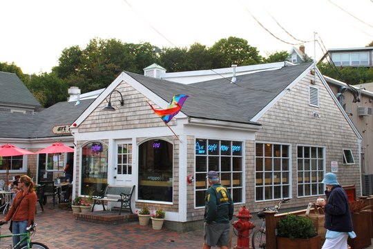 Art House Cafe in Provincetown, Massachusetts