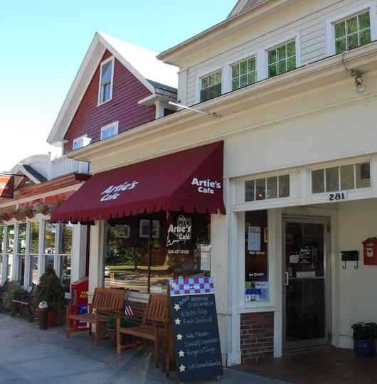 Artie's Café in Falmouth, Massachusetts