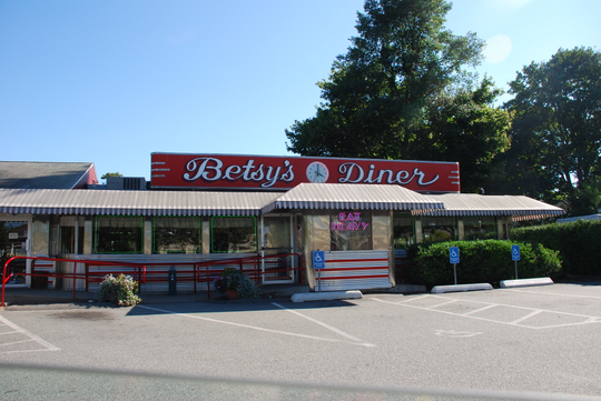 Betsy's Diner in Falmouth, Massachusetts