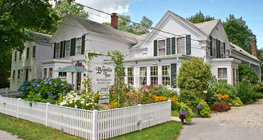 Bramble Inn Restaurant in Brewster, Massachusetts