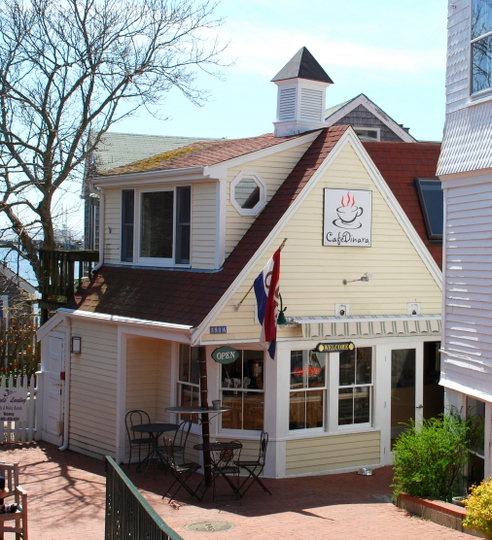 Café Dinara in Provincetown, Massachusetts