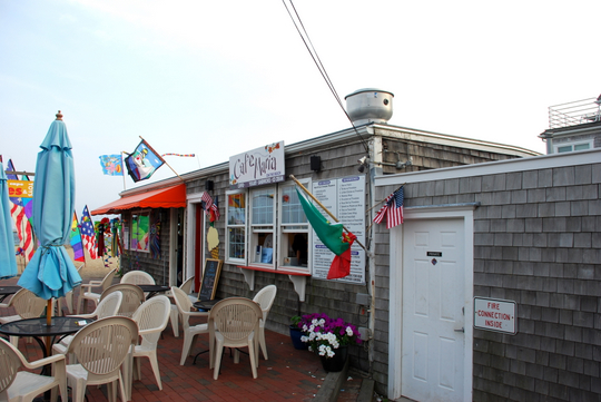 Café Maria on the Beach in Provincetown, Massachusetts