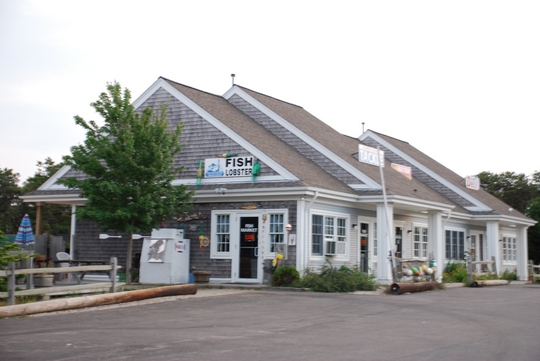 Cape Tip Fish & Lobster Market in Truro, Massachusetts