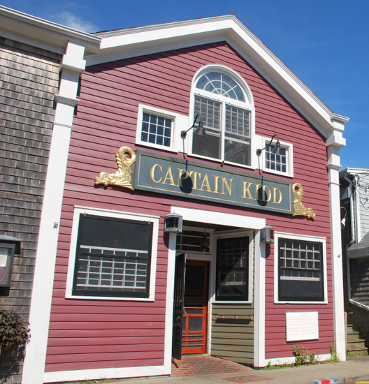 Captain Kidd Restaurant & Bar in Woods Hole, Massachusetts
