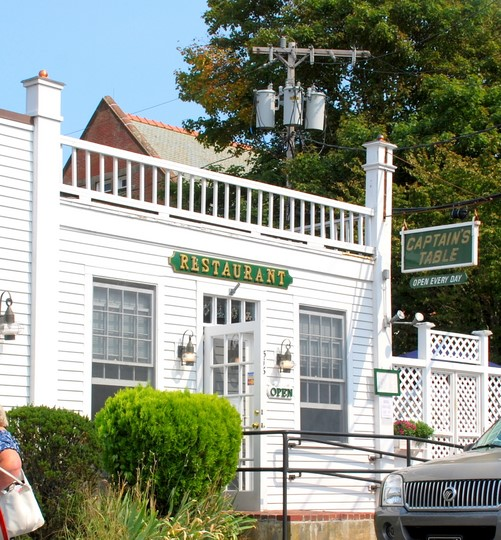 Captain's Table in Chatham, Massachusetts