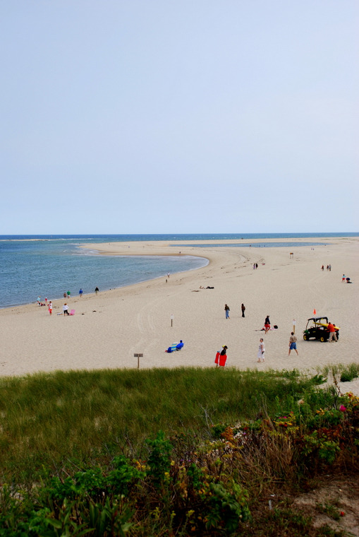 The beach in Chatham, MA (Cape Cod)