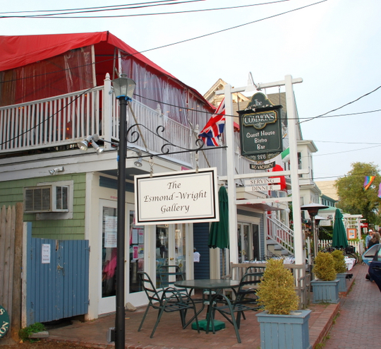 Commons Bistro in Provincetown, Massachusetts