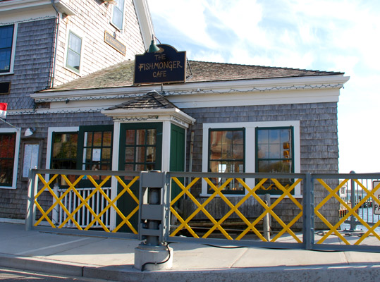 Fishmonger's Café in Woods Hole, Massachusetts