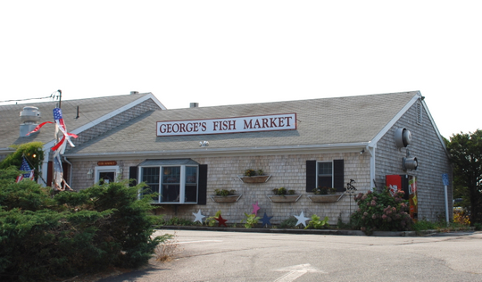 George 39 s fish market in harwich ma photo details map for Cape cod fish market