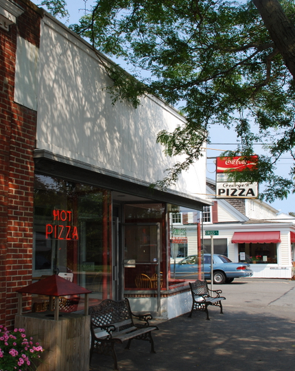 George's Pizza House in Harwich Port, Massachusetts