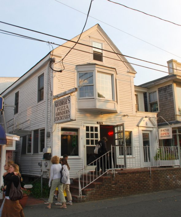 George's Pizza in Provincetown, Massachusetts