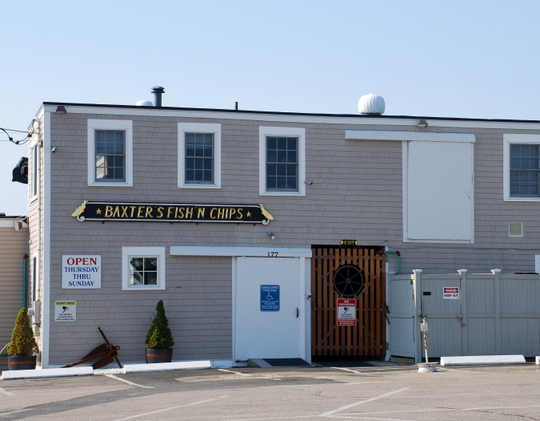 Baxter's Fish-n-Chips in Hyannis, Massachusetts
