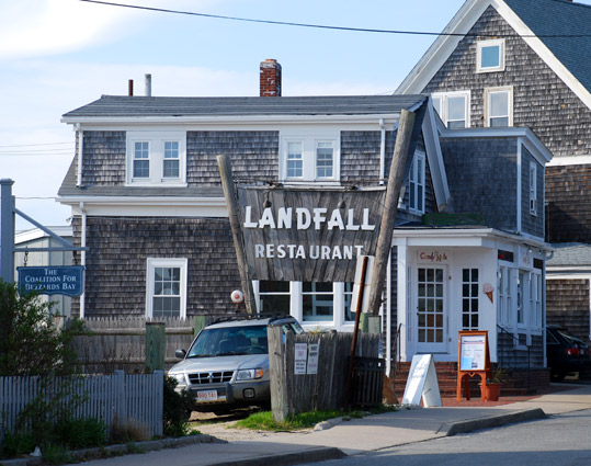Landfall Restaurant in Woods Hole, Massachusetts