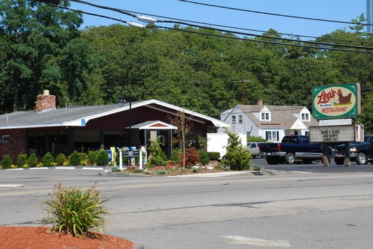 Leo's Breakfast Restaurant in Buzzards Bay, Massachusetts