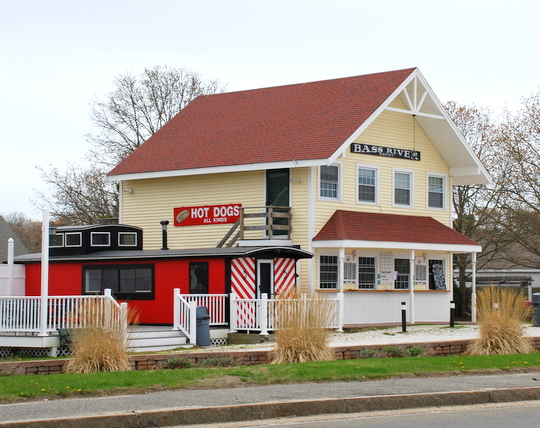 Lil' Caboose Ice Cream in South Yarmouth, Massachusetts
