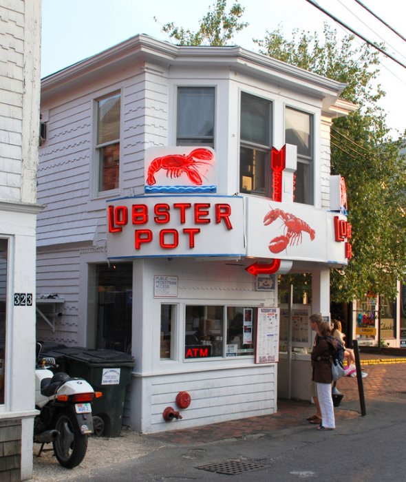 Lobster Pot In Provincetown, MA
