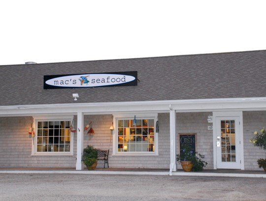 Mac's Seafood in north truro, Massachusetts