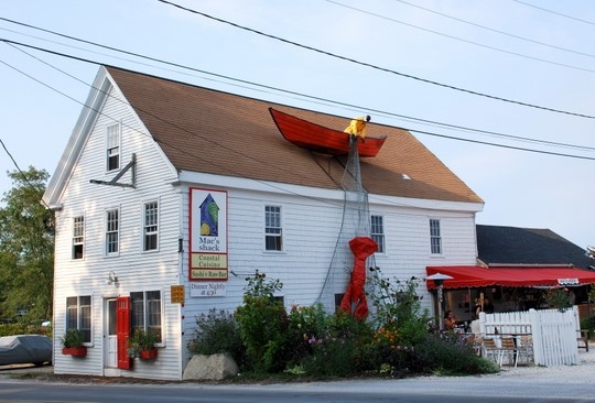 Mac's shack in Wellfleet, Massachusetts