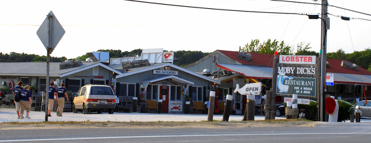 Moby Dick's in Wellfleet, Massachusetts