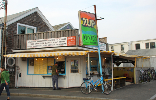 Mojo's in Provincetown, Massachusetts