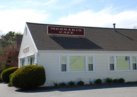 Moonakis Café in East Falmouth, Massachusetts