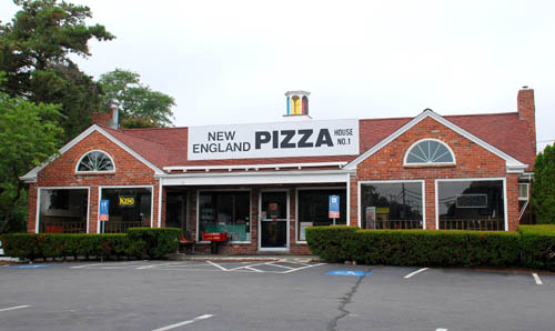 New England Pizza House in Hyannis, Massachusetts