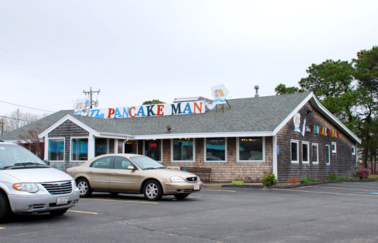 The Pancake Man in South Yarmouth, Massachusetts