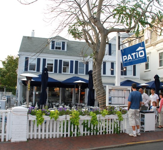Patio American Grill U0026 Blue Bar In Provincetown, Massachusetts