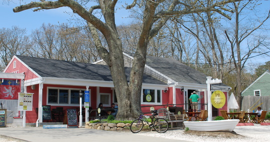 PB Boulangerie & Bistro in Wellfleet, Massachusetts