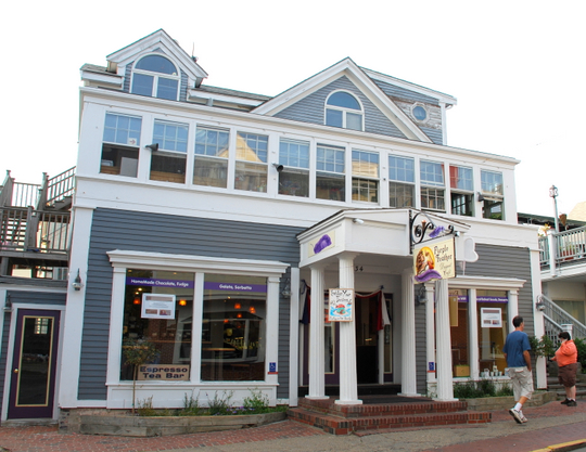 Purple Feather Dessert Cafe in Provincetown, Massachusetts