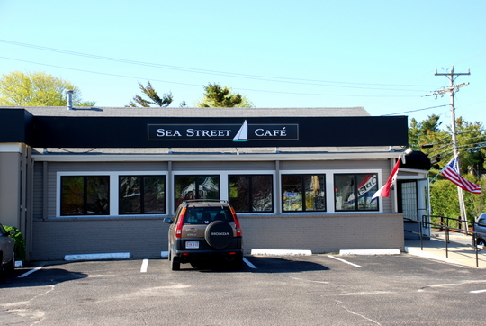 Sea Street Café in Hyannis, Massachusetts