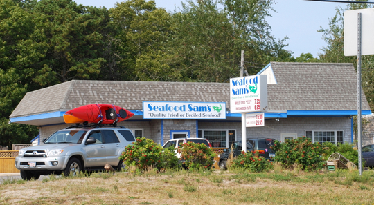 Seafood Sam's in Harwich, Massachusetts
