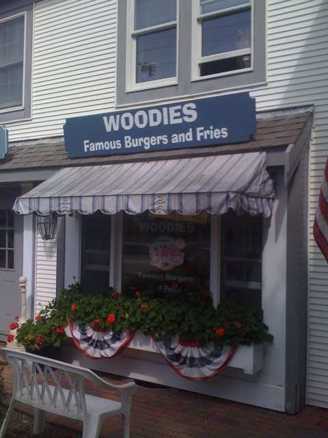 Woodie's Famous Burgers in Orleans, Massachusetts