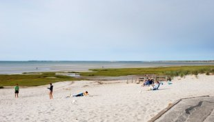 The beach-The beach in Orleans, Massachussets (medium sized photo)