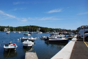 The pier-The pier at Woods Hole in Cape Cod (medium sized photo)