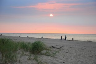 The beach-Cape Cod National Seashore beach (Provincetown, Massachussets) (medium sized photo)